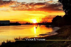 couchant Loire Nantes voilier port Trentemoult pont Cheviré Victor & Victoire immobilier Real Estate agency