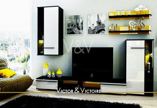 Appartement T2 Nantes Facultés appartement hauteur canapé vue ville home cinéma Victor & Victoire Immobilier-Real estate agency