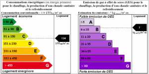 DPE GES couleur maison saint-gilles-croix-de-vie agence Victor-Victoire immobilier Real Estate Agency