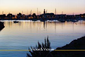 couchant église Croix de Vie port Agence immobilière Victor & Victoire Real estate agency.