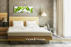 chambre spacieuse lumineuse bois vert Agence immobilière Victor & Victoire, Real estate agency.