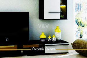 mural séjour vente appartement Paris 75018 Agence immobilière Victor & Victoire. Real estate agency
