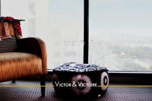 fauteuil club face vue appartement Paris Nantes Agence immobilière Victor-Victoire. Real estate agency