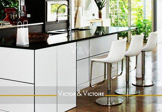 cuisine américaine séjour baies sur nature vente appartement Paris (75)agence-immobilière-victor-victoire-real-estate-agency