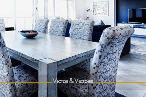 séjour larges baies appartement lumineux Paris Agence immobilière Victor & Victoire, Real estate agency