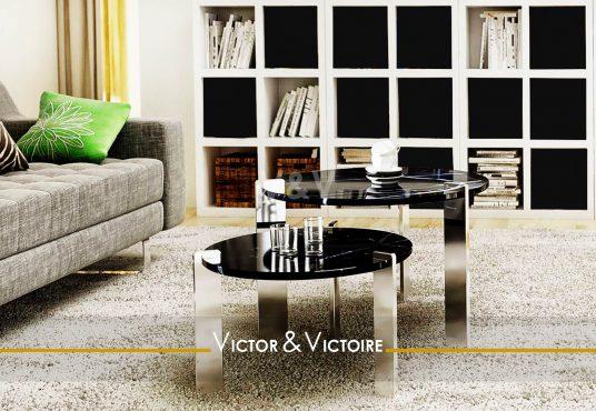 séjour canapé bibliothèque vendre appartement Paris 75 Agence immobilière Victor & Victoire. Real estate agency.